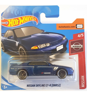 Hot Wheels Nissan Skyline GT-R BNR32 2019 Mavi