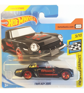 Hot Wheels Fairlady 2000 HW Speed Graphics 2018 Siyah