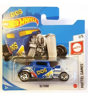 Hot Wheels 32 Ford Uno Mattel Games DOS Mavi