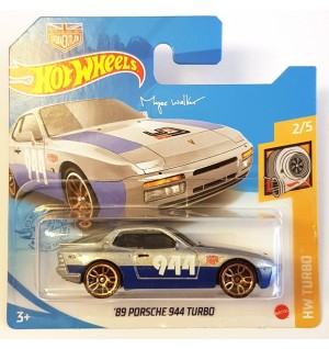 Hot Wheels 89 Porsche 944 Turbo HW Turbo - Gri