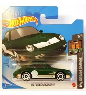 Hot Wheels 96 Porsche Carrera HW Dream Garage Koyu Yesil