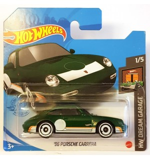 Hot Wheels 96 Porsche Carrera HW Dream Garage Koyu Yesil