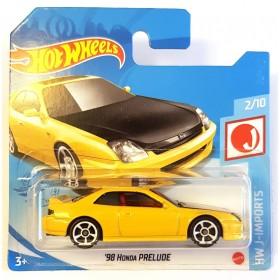 Hot Wheels 98 Honda Prelude HW J-imports Sarı