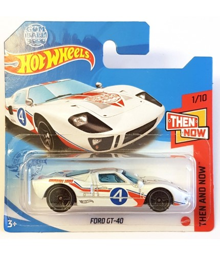 Hot Wheels Ford GT-40 HW Race Day Gulf