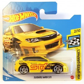 Hot Wheels Subaru.WRX STI HW Speed Graphics
