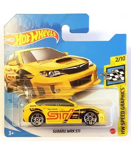 Hot Wheels Subaru.WRX STI HW Speed Graphics