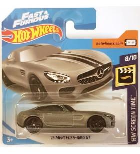 Hot Wheels 15 Mercedes AMG GTW Screentime 2019 Gri