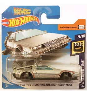 Back to the Future Time Machine Hower Mode Screen Time 2019