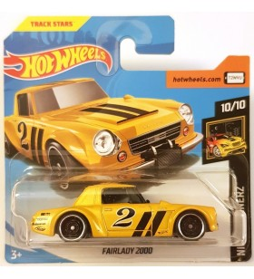 Hot Wheels Fairlady 2000 Nightburners 2019 Sarı