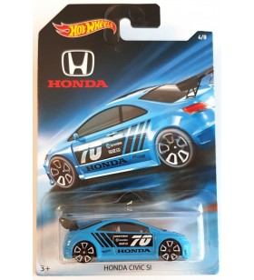 Hot Wheels Honda Civic SI Hatchback Honda 2017 No4