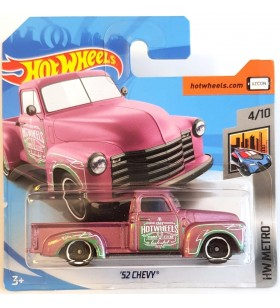 Hot Wheels 52 Chevy HW Metro 2018 Metalik Pembe