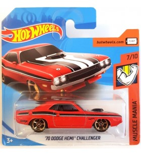 Hot Wheels 70 Dodge Hemi Challenger Muscle Mania 2018