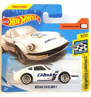 Hot Wheels  Nissan Fairlady Z Speed Graphics 2018 Beyaz
