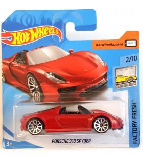 Hot Wheels Porsche 918 Spyder Factory Fresh 2018 Kırmızı