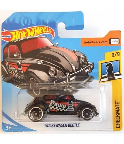 Hot Wheels Volkswagen Beetle Checkmate 2018 Siyah
