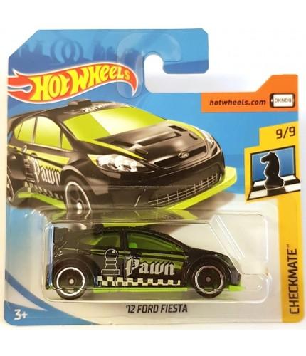 Hotwheels 12 Ford Fiesta Checkmate 2018