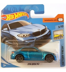 Hot Wheels 2016 BMW M2 Factory Fresh 2018 Mavi