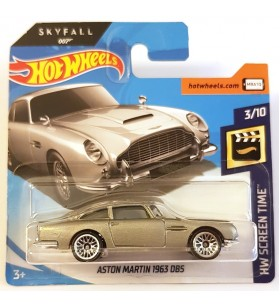 Hot Wheels Aston Martin 1963 DB5 HW Screen Time 2018