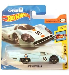 Hot Wheels Porsche 917 LH Legends of Speed 2018 Gulf Mavi