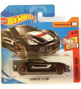 Hot Wheels Corvette C7 Z06 Then and Now 2018
