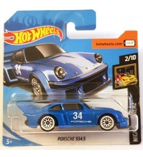 Hot Wheels Porsche 934.5 Nightburners 2018 Mavi