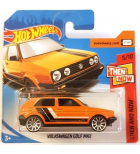 Hot Wheels Volkswagen Golf MK2 Then and Now 2018