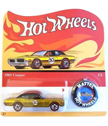 Hot Wheels 1968 Cougar 50th Aniv. Originals Redline