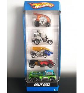 Hot Wheels 5li Araba Seti Crazy Cars 2007