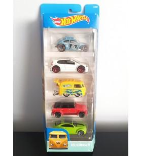 Hot Wheels 5'li Araba Seti Volkswagen 2015 Kool Kombi