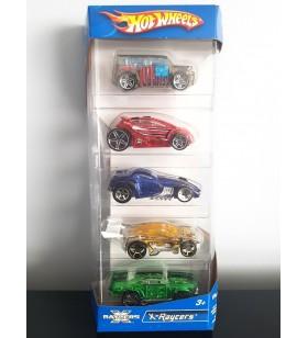 Hot Wheels 5'li Araba Seti X-Racers 2007