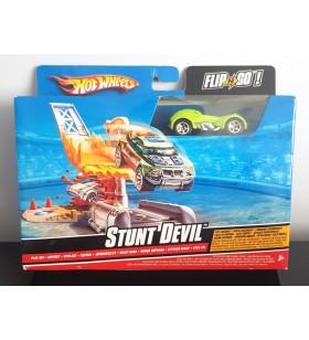 Hot Wheels Stunt Devil Mini Oyun Seti Flip-N-Go Serisi