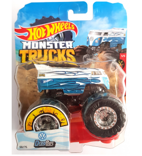 Hot Wheels Volkswagen Drag Bus Monster Trucks HW Flames