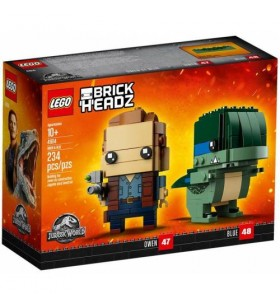 LEGO Brick Headz Owen & Blue - Jurassic World