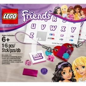 LEGO Friends 5004395 Jewelry and Sticker Pack