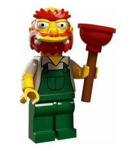 LEGO Simpsons Seri 2 No:13 71009 Groundskeeper Willie