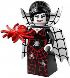 LEGO Monsters 71010 No:16 Spider Lady