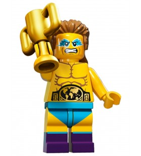 LEGO Seri 15 71011 No:14 Wrestling Champion