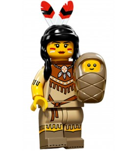 LEGO Seri 15 71011 No:5 Tribal Woman