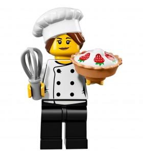 LEGO Seri 17 71018 No:3 Gourmet Chef Cook