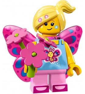 LEGO Seri 17 71018 No:7 Butterfly Girl