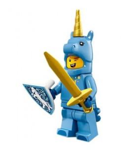 LEGO Party 71021 No:17 Blue Unicorn Knight