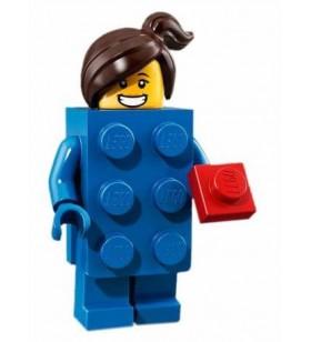 LEGO Party 71021 No:3 Blue Brick Suit Girl
