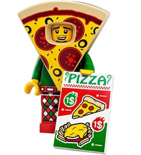 LEGO Seri 19 71025 No:10 Pizza Costume Guy