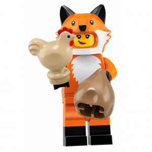 LEGO Seri 19 71025 No:14 Fox Costume Girl
