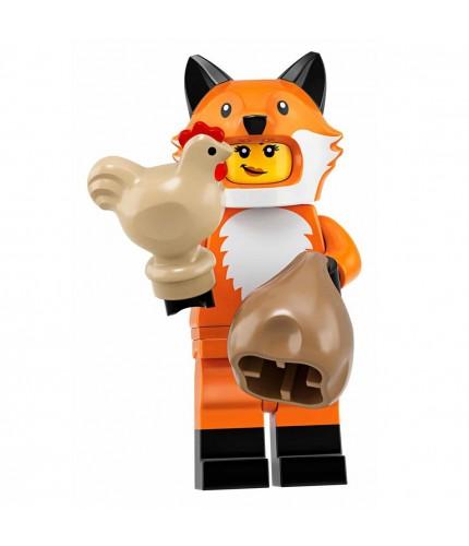 LEGO Seri 19 71025 No:14 Fox Costume Girl