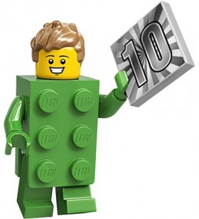 LEGO CMF Seri 20 71027 No:13 Brick Costume Guy