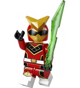 LEGO CMF Seri 20 71027 No:9 Super Warrior Ranger