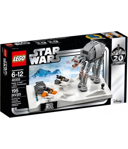 LEGO STAR WARS 40333 Battle of Hoth 20th Anniv. Ed.
