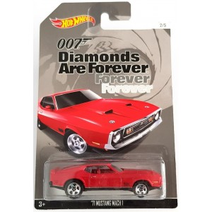 Hot Wheels 007 James Bond No 2 1971 Mustang Mach 1