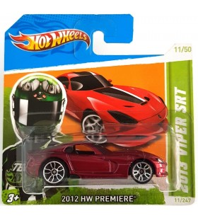 Hot Wheels 2013 Viper SRT HW Premiere 2012